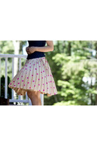 silk kate spade skirt - Anne Fontaine top