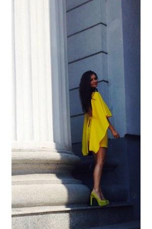 yellow cotton Zara shoes