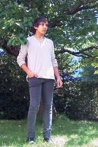 Scotch & Soda t-shirt - Cheap Monday jeans - Levis shoes