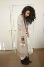 Dark-brown-studded-mossimo-boots-off-white-lace-maxi-lily-white-skirt