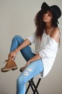 Tawny-ankle-boots-ebay-boots-blue-distressed-pacsun-jeans