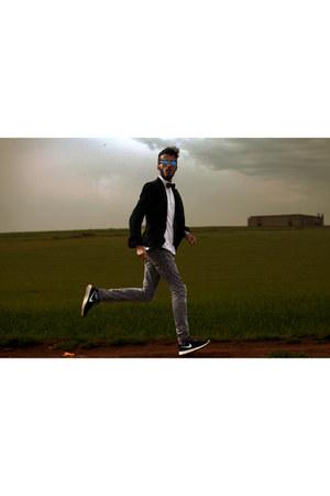 nike sneakers - jeans Zara jeans - Massimo Dutti blazer - Zara shirt