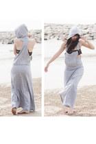 white overalls unknown dress - deep purple Forever 21 bra