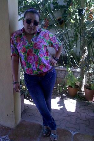 vintage blouse - Tienda local jeans
