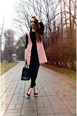 kira plastinina vest - Zara jeans - Love Republic bag - Centro x Vicini heels