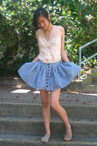 kimchi and blue skirt - Abercrombie&Fitch top