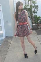 dress - belt