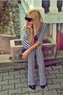 Black-in-stripes-atelier-jaisse-romper-beige-baroc-prada-sunglasses