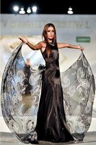 black butterfly adriana agostini dress