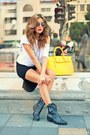 Charcoal-gray-no1-boots-black-no1-dress-light-yellow-no1-bag