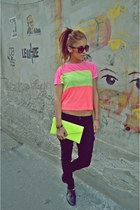 Casual to neon