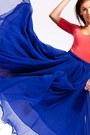 Salmon-salmon-zara-bodysuit-blue-maxi-vintage-skirt