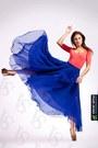 Blue-maxi-vintage-skirt-salmon-salmon-zara-bodysuit