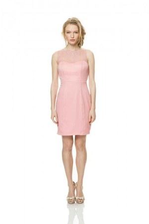 bubble gum dress - beige dress - bubble gum dress - sky blue dress