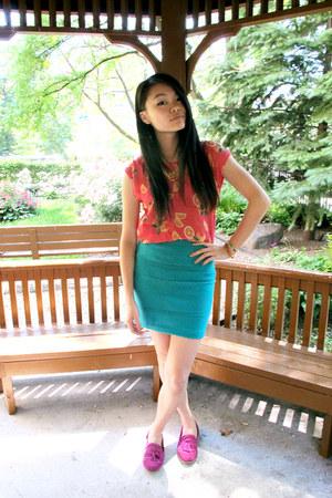 lemons modcloth blouse