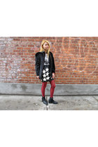 leather patched joyrich skirt