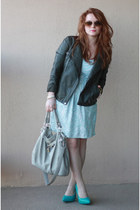 Bar III dress - Forever 21 jacket - Yesstyle bag - michael antonio pumps