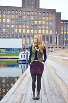 Even & Odd dress - Zara vest