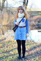 dresslily shirt - second hand skirt - Katinka hair accessory