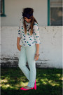 Bow-headwrap-france-luxe-accessories-mint-green-loft-pants