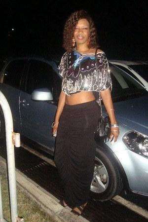 Forever 21 top - maxi Forever 21 skirt