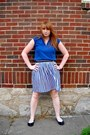 Navy-vintage-blouse-blue-vintage-skirt-black-leather-gap-belt-black-old-na