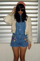 coral beanie H&M hat