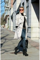 Zara coat - Via Spiga boots