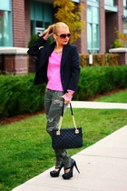 Zara sweater - calvin klein bag - Michael Kors sunglasses