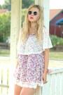 Light-pink-flower-asian-icandy-dress