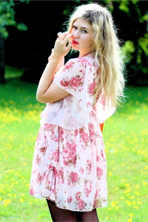 light pink roses asian icandy dress