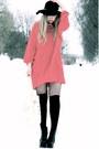 Black-lita-jeffrey-campbell-shoes-black-vintage-hat-red-borrowed-vintage-swe