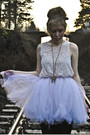 White-vintage-skirt-white-monki-dress