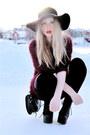 Black-lita-jeffrey-campbell-shoes-crimson-furry-monki-sweater