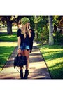Sam-edelman-boots-urban-outfitters-hat-alexander-wang-bag-zara-shorts