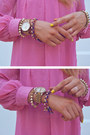Light-yellow-nail-polish-opi-accessories-bubble-gum-h-m-dress