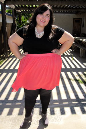Avenue shoes - asos skirt - Forever 21 accessories