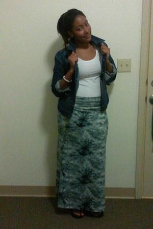 kohls skirt - Old Navy jacket