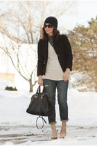 J Crew sweater - Adriano Goldschmied jeans