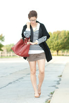 J Crew shoes - calvin klein coat - J Crew sweater - Givenchy purse