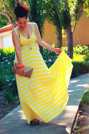 eight sixty dress - no name bracelet - lace Tulle vest