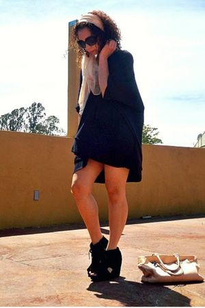 black Bambooshka dress - black Jeffrey Campbell shoes
