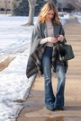 Navy-cotton-urban-outfitters-jeans-charcoal-gray-wool-just-jamie-jacket