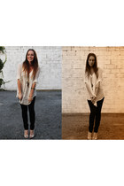 Country Road jeans - Dotti wedges - Now blouse - Equip necklace