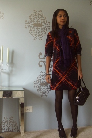 GO International Taget dress - Steve Madden shoes - kate spade scarf - kate spad