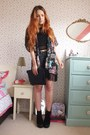 Black-suede-platform-topshop-boots-black-studded-clutch-matalan-bag