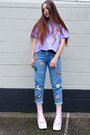 Bubble-gum-platform-dolls-kill-boots-violet-oversized-bundy-webster-top
