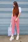 Red-love-heart-topshop-jeans-white-tote-cute-dino-goods-bag