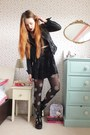 Black-chunky-leather-topshop-boots-black-leather-new-look-jacket