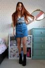 Black-halter-american-apparel-bodysuit-blue-denim-primark-skirt